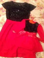 Платье мама и дочка