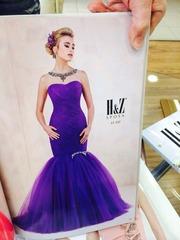 Шикарное,  абсолютно новое фиолетовое платье!! Срочно продам