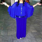Вечернее платье авторского дизайна в Алматы