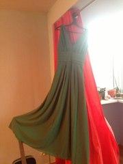 вечернее зеленое платье дешево