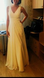 Белое красивое платье подойдет для кыз узату,  выпускного, и т.д