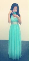 Продам платье Самого притягательного цвета в мире-Тиффани