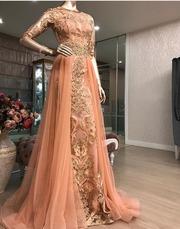 Вечернее платье для узату или выпускного