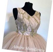 Продаётся выпускное платье,  сшитое на заказ